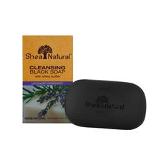 Shea Natural Butter Black Soap, Moisturizing Lavender Rosemary, 5 Ounce >>> More info could be found at the image url.