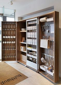 Hottest Free modern kitchen storage Suggestions Kitchen shelving is recognized to alternate from sorted to be able to disorder while in the close your lids of. Diy Kitchen Cabinets, Kitchen Pantry, Kitchen Furniture, Pantry Closet, Furniture Storage, Storage Cabinets, Smart Closet, Pantry Diy, Larder Cupboard