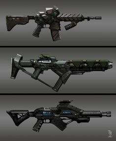 ArtStation - weapon, Boukhezzer Mehdi