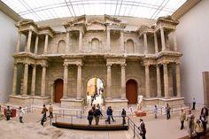 market gate of miletus, pergamon museum, berlin, germany