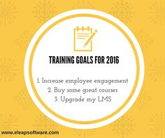 Meet your goals early this year. Try eLeaP for FREE!