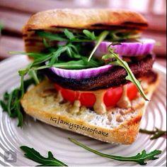 Healthy burger!