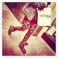 "@streetstylish's photo: ""Girly grunge | #streetstyle #lace #fashion #london"""