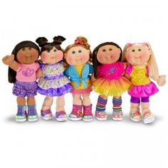 The Cabbage Patch Kids- Babyland -little people born Muñecas Cabbage, Cabbage Dolls, 80s Kids, Kids Girls, Santa Outfit, Cabbage Patch Kids Dolls, Childhood Toys, Childhood Memories, Child Doll
