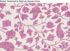 Rohet textured - Mally Skok fabrics