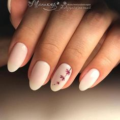 A manicure is a cosmetic elegance therapy for the finger nails and hands. A manicure could deal with just the hands, just the nails, or Light Nails, Dark Nails, Matte Nails, Light Colored Nails, Matte Makeup, Gorgeous Nails, Pretty Nails, Nagel Blog, Nail Polish