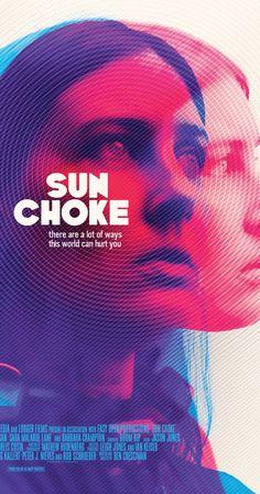 Risultati immagini per sun choke poster Gfx Design, Layout Design, Design Art, Print Design, Logo Design, Graphic Design Posters, Graphic Design Inspiration, Creative Advertising, Photoshop