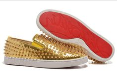 christian louboutin replica shoes high quality AAA+ leather shoes men shoes women casual shoes cheap price 78 dollars red bottom flats shoes size 36-46 with dust bag and shoebox