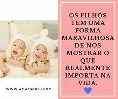 Filhos ❤️ ➡️ www.amaesoueu.com #FrasesDaMãe #filhos #maternidade  #maebabada #mãe #maecoruja #frases #frasesdodia #FrasesPerfeitas #frase #frasesdeamor #instaframe #instame #vida #instafrases #insta #instafrases #instame #instagood #vida #crianças #foto