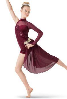 moily Big Girls Halter Neck Tank Leotard Irregular Hi-Lo Ruffles Skirts Ballet Lyrical Dance Praise Dress