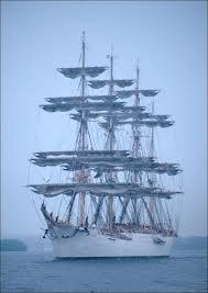 Sedov at the Tall Ships' Race, Mariehamn, Finland