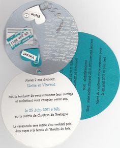 Faire part - Sélection de l'utilisatrice creharmonie | Fairelanoce.fr Save The Day, Quirky Wedding, Projects