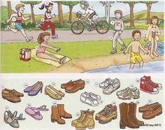 sportkleding en schoenen