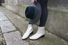 Silver miista boots and favourite by malene birger hat //