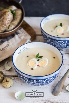 Chrzanowa zupa krem - Cook it Lean - sprawdzone paleo przepisy