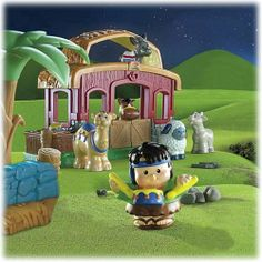 Fisher Price Little People Lil' Drummer Boy Playset by Fisher Price, http://www.amazon.com/dp/B000WZ2T7K/ref=cm_sw_r_pi_dp_g7zXqb1BC49MX
