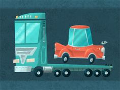 Car and truck!Troy Cummings is an illustrator who also writes kids' books.
