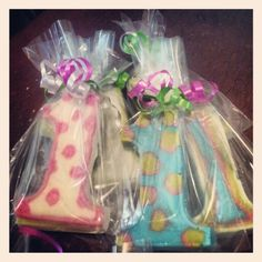 """1st birthday party """"#1"""" chocolate favors"""
