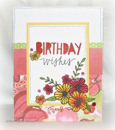 Gina's Little Corner of StampinHeaven: Lovely Birthday