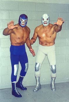 Blue Demon and El Santo