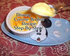 DIY Disney Recipe: Crème Brûlée from Narcoossee's — Blowtorch Optional! | the disney food blog #Disney #Recipe