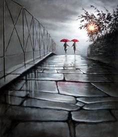 """✿Rainy Day✿ """"Being With You"""" by Bob Barker"""