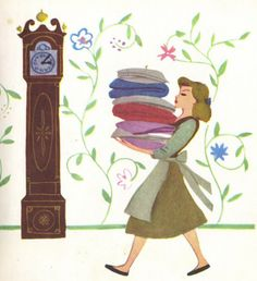 "walt disney's ""cinderella"" little golden book. art by mary blair."