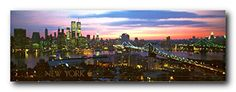 NYC Brooklyn Bridge Manhattan New York City Skyline Wall ... http://a.co/d8gpXBV