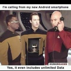 Picard's phone of choice