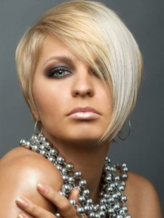 classy short hairstyle 2012