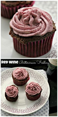 Red Wine Buttercream Frosting