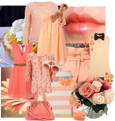 """""""Peachy Keen"""" by alicia-king on Polyvore"""