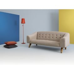 tilly three seater sofa by and then design