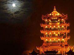 Yellow Crane Tower - China culture Wuhan, Hubei