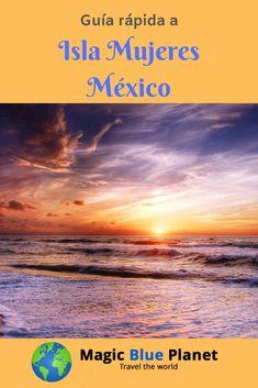 Guía rápida para la bella isla caribeña.  #magicblueplanet #mexicodesconocido #mexico #islamujeres Bella, World, Travel, Tropical Paradise, Beach, Dinners, Women, Viajes, Destinations