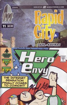 A couple of Indy comic books