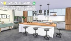 Simsational designs: Blandco No More - Kitchen Recolours • Sims 4 Downloads