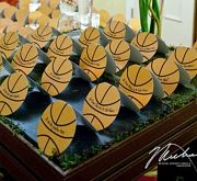 Bar Mitzvah | Basketball Theme, Place Card Table