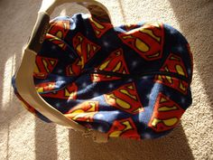 Superman infant car seat cover by reelstitch on Etsy