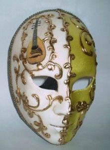 arlecchino venetian mask