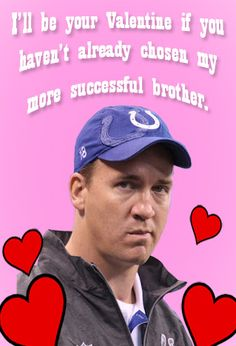awwww. I love peyton.
