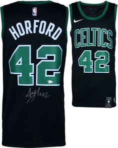 8cd2c69c475 Framed Al Horford Boston Celtics Autographed Black Nike Swingman Jersey for  sale online
