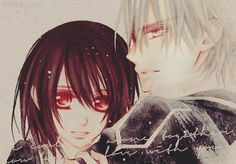 Zeki aka Zero x yuuki Yuki And Kaname, Yuki Kuran, Yuki And Zero, Matsuri Hino, Vampire Knight Zero, Zero Kiryu, Best Love Stories, Anime Shows, Anime Love