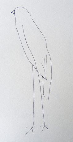 sketchbook drawings by hens teeth, via Flickr