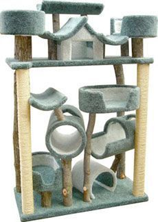 Model P10 Bed Mania Cat Tree #cattower - More about Cat Tower at - Catsincare.com! http://www.catsyards.com/shop/