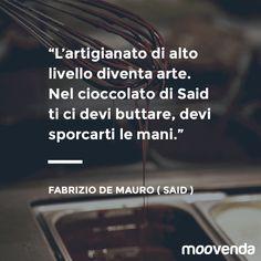 Fabrizio De Mauro Citazione Said cioccolato