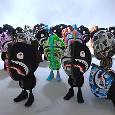 Something we liked from Instagram! #swp001 #3D프린터 #arttoy #designfigure  #3dprinter #modeling #art #artwork #bape #newera #fashion #street #streetfashion #toy #figure #design #sculpture #베이프 #샤크 #패션 #집업 #집업후드 #스트릿 #스트릿패션  #뉴에라 #아트토이 #예술 #조각 #작품 by swp001 check us out: http://bit.ly/1KyLetq