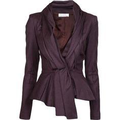 OSCAR DE LA RENTA 'Skyline' jacket found on Polyvore