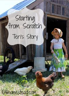 Teri Starts Her Homestead from Scratch Teri lives on 10 acres in Missouri with her family of four. She is the writer of Homestead Honey and today she is sharing her homesteading journey with us. Homestead Layout, Homestead Farm, Homestead Gardens, Homestead Living, Farms Living, Homestead Survival, Survival Skills, Survival Gear, Survival Shelter