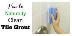 TILE GROUT:  Most readers say Magic Erasers are super, 1 spray w bleach & leave, other vinegar on sponge and baking soda